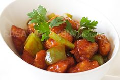 ABSOLUTELY THE BEST.......Sweet and Sour Chicken Recipe | Easy Asian Recipes at RasaMalaysia.com.... I added pineapple to the sauce and served it separate from the chicken and peppers to keep it crispy. I also doubled the sauce.