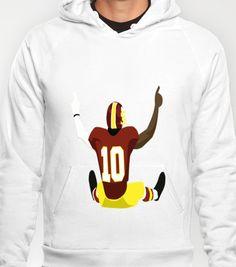 Griffining Hoody by IllSports - $38.00  Robert Griffin III  Washington Redskins