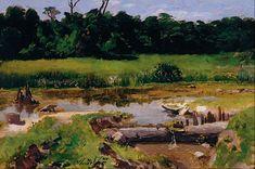 Almeida Júnior Paisagem Fluvial , 1899