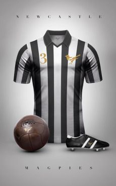 Vintage Voetbal Shirt  - Prachtige ouderwetse designs clubshirts - Manify.nl