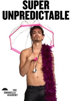 The Umbrella Academy: eine Netflix-TV-Show . - The Umbrella Academy ☂️♥ - Cinema Best Rain Umbrella, Best Travel Umbrella, Under My Umbrella, Robert Sheehan, Gerard Way, Running Gag, Never Fall In Love, Umbrella Stroller, Dark Phoenix