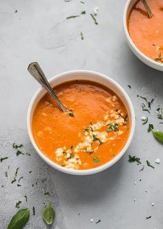 Feta and Tomato Soup