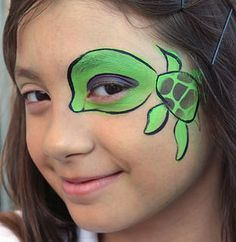 Monliet face paint | animals/ creature