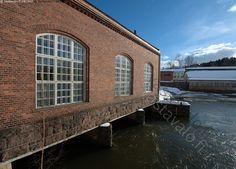 Mustionjoen voimalaitos  -  Museovoimalaitos. Billnäs ruukkialue