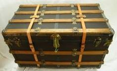 Antique trunks are fantastic!