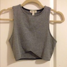 Urban Outfitters high neck crop tank Worn like once Tops Crop Tops