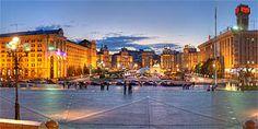 Maidan (Independence Square), Kyiv, Ukraine
