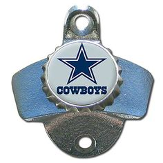 Dallas Cowboys Wall Mount Bottle Opener