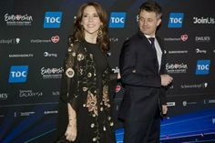 MYROYALS &HOLLYWOOD FASHİON: Crown Prince Frederik and Crown Princess Mary attended the Eurovision Song Contest Finals, May 10, 2014
