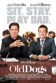 Old Dogs Poster 2009 Robin Williams played Dan