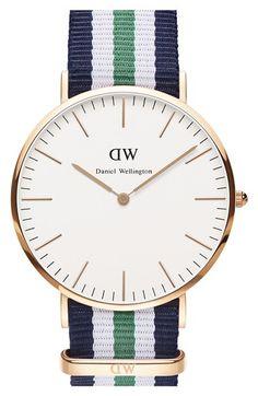 deb1e14d918 Daniel Wellington  Classic Nottingham  NATO Strap Watch
