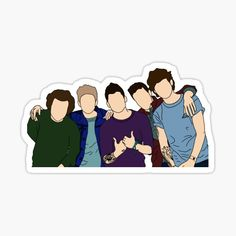 One Direction Stickers | Redbubble One Direction Store, One Direction Fan Art, One Direction Drawings, One Direction Wallpaper, One Direction Videos, One Direction Pictures, Cool Stickers, Printable Stickers, Harry Styles Dibujo