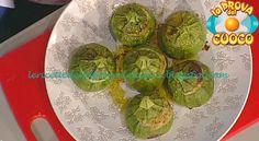 Cestini di zucchine ricetta Anna Moroni