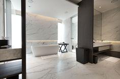 Modern Bathroom Design with marmer