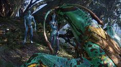 To become 'taronyu' hunter, you must choose your own Ikran and he must choose…