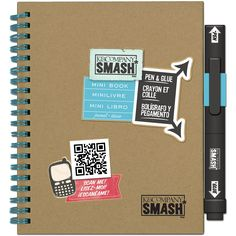 3-D Mini SMASH Book-With Pen and Glue3-D Mini SMASH Book-With Pen and Glue,