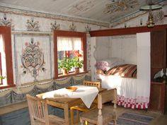 quaint cottage interior