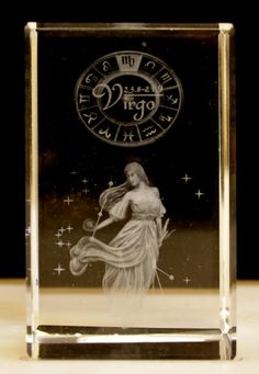 Laser Crystal -Virgo wholesale at ancientwisdom.biz Wholesale Star Sign Laser Blocks Wholesale Star Sign Laser Blocks.Each Laser Crystal is beautifully packed in a presentation box. The clarity and quality is about the best we have seen.You can tell the grade of the laser etching by how small the dots are - the smaller the dots the better the detail - it all adds to the magic.
