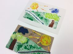 Teach Your Students to Make Collagraph Prints - The Art of Ed