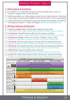 Doterra Cleanse & Restore Information Page