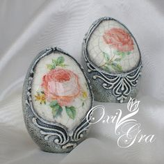 Oxi po raz pierwszy: Z tęsknoty za słońcem Decoupage, Egg Crafts, Easter Crafts, Hoppy Easter, Easter Eggs, Types Of Eggs, Incredible Eggs, Carved Eggs, Egg Tree
