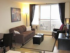 Sunny, 24th Floor, in Heart of Montreal, Pool, Gym, Park