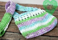 Seven Alive all Livin' in a Double Wide: Baby Hobo Bag Crochet Pattern, thanks so for lil bag xox
