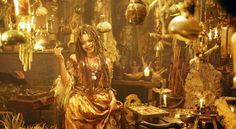 chez la sorcière vaudo Tia pirates des caraïbes