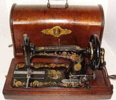 Collection of Sewing Machines, some for sale.