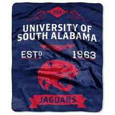 Northwest Co. NCAA Label Throw NCAA Team: University of South Alabama