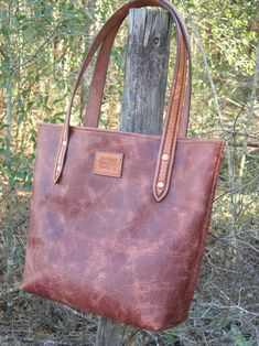 Gibson American Bison Handmade Leather Tote Bag Purse Satchel-*ONE MORE IN PRODUCTION* - Bruce Gibson Design