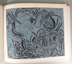4 of 7 : Linogravures', Pablo Picasso, Editions Cercle D'Art Paris, Wilhelm Boeck, 1962 L6BBB8