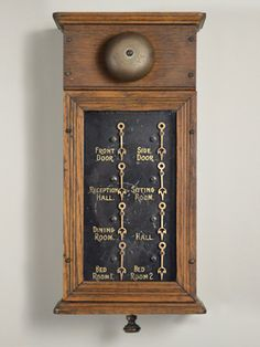 This late-1800s butler's call box looks like something that'd be used in Downton Abbey. What is it worth? $350