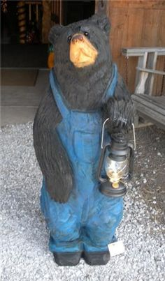 Chainsaw Wood Carved Bears Chainsaw Carving Artists