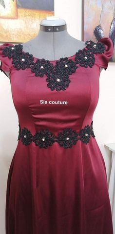 Gnader Saif, Pretty Dresses, Formal Dresses, Fashion, Needlepoint, Gowns, Chic Dress, Kaftan, Haute Couture