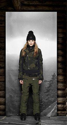 Buy fashionable SOS winter & ski wear for men and women online. Snow Fashion, Winter Fashion, Fashion Women, Women's Fashion, Women's Jackets, Jackets For Women, Winter Jackets, Ski Bunnies, Skier