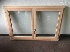 Finestra doppia in legno nuova - Finestra nuova in legno doppia con anta rebaltabile. Doppi vetri Dimensioni larghezza 1.54 altezza 1,075 Bathroom Medicine Cabinet, Bedroom, Bedrooms, Dorm Room, Dorm