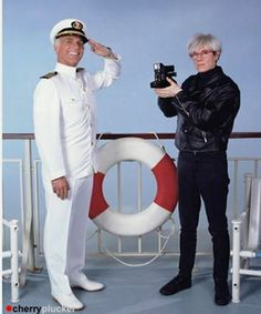 """Andy Warhol en """"Vacaciones en el mar""""."""