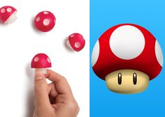 Israeli industrial designer Avichai Tadmor has found a cool way to make radishes more appealing to picky eaters. He created the Ravanello, a simple plastic kitchen tool that turns the vegetable into a Super Mario-themed mushroom.