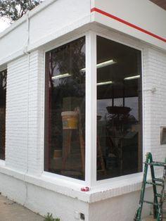 como pintar una ventana o puerta de aluminio