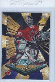 1995-96 Martin Brodeur Pinnacle Zenith Z Team Promo - Sample New Jersey Devils #NewJerseyDevils