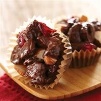 almond cranberry clusters