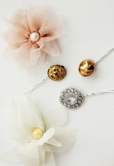 15 #DIY Fashion Projects: Hair Baubles