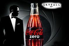 Coca Cola 007.  Coca Cola Zero partners James Bond for Skyfall