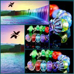 E se tutti noi fossimo sogni che qualcuno sogna, pensieri che qualcuno pensa? Noi vorremmo essere un arcobaleno di sogni colorati….. E voi?