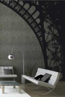 Eiffel arch wall sticker