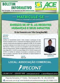 Folha do Sul - Blog do Paulão no ar desde 15/4/2012: BOLETIM ACE - MATRICULE-SE