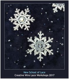 New School of Lace Newsletter – Autumn 2017 | Lenka's Way of Lace