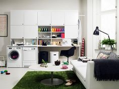 Electrolux laundry room