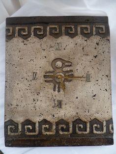 MIS ARTESANIAS: Reloj De Pared